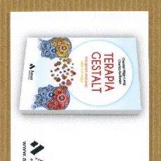 Coleccionismo Marcapáginas: MARCAPAGINAS EDITORIAL AMAT - TERAPIA GESTALT. Lote 288945058