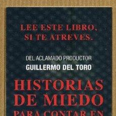 Coleccionismo Marcapáginas: MARCAPAGINAS EDITORIAL OCEANO - HISTORIA DE MIEDO. Lote 288947763