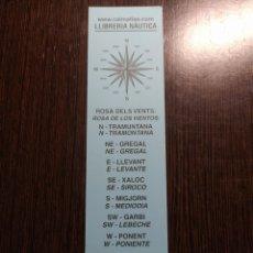 Collectionnisme Marque-pages: MARCAPÁGINAS LIBRERÍA NÁUTICA. Lote 289009663
