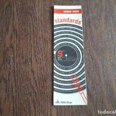 Coleccionismo Marcapáginas: MARCAPÁGINAS, PUNTO DE LIBRO, STANDARDS, GERMÁN SIERRA. PÁLIDO FUEGO.. Lote 289196828