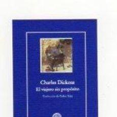 Coleccionismo Marcapáginas: MARCAPÁGINAS - GADIR - EL VIAJERO SIN PROPÓSITO - CHARLES DICKENS. Lote 289338983