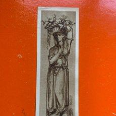Coleccionismo Marcapáginas: MARCAPAGINAS. ALEMÁN. AÑOS 20. Lote 292295133