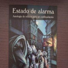Coleccionismo Marcapáginas: MARCAPÁGINAS. TAMAÑO POSTAL. VALDEMAR. ESTADO DE ALARMA. ANTOLOGÍA DE RELATOS PARA UN CONFINAMIENTO. Lote 294097743