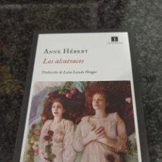 Coleccionismo Marcapáginas: MARCAPÁGINAS. IMPEDIMENTA. ANNE HEBERT. LOS ALCATRACES. Lote 294115558