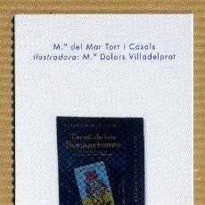 Coleccionismo Marcapáginas: MARCAPAGINAS EDICIONES OBELISCO - TAROT DE LAS SENSACIONES. Lote 294611118