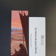 Colecionismo Marcadores de página: MARCAPÁGINAS - HERMIDA EDITORES - LA TIERRA DE POCA LLUVIA - MARY HUNTER AUSTIN. Lote 295700243