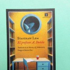 Colecionismo Marcadores de página: MARCAPAGINAS FORMATO POSTAL EDITORIAL IMPEDIMENTA EL PROFESOR A. DONDA. Lote 295848718