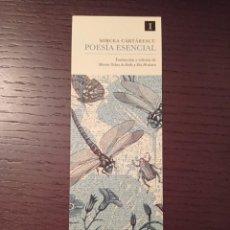 Coleccionismo Marcapáginas: MARCAPÁGINAS. IMPEDIMENTA. MIRCEA CARTARESCU. POESÍA ESENCIAL. Lote 297103588
