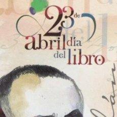 Coleccionismo Marcapáginas: MARCAPAGINAS DIA DEL LIBRO DE SALAMANCA GABRIEL Y GALAN. Lote 297144943