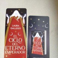Coleccionismo Marcapáginas: MARCAPÁGINAS - MONTENA - EL CICLO DEL ETERNO EMPERADOR - LAURA GALLEGO. Lote 297352533