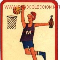 Coleccionismo deportivo: COCA COLA - TARJETA PUBLICIDAD. Lote 20518289