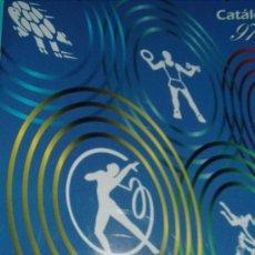 Coleccionismo deportivo: CATALOGO JUEGOS GIMNASIA . Lote 29457159