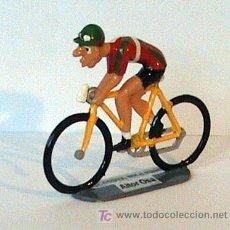 Coleccionismo deportivo: CICLISTAS EN MINIATURA DE GRAN CALIDAD IBAN MAYO. Lote 3782222