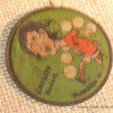 Coleccionismo deportivo: ANTIGUA PEGATINA CRUYFF, MUNCHEN AÑO 1974. Lote 10930906