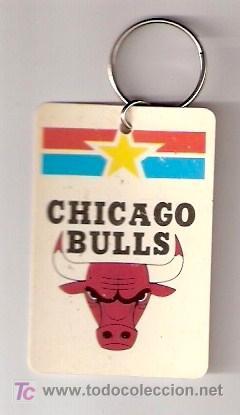 LLAVERO CHICAGO BULLS - PRODUCTO OFICIAL NBA - BALONCESTO (Coleccionismo Deportivo - Merchandising y Mascotas - Otros deportes)