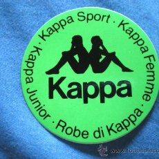 Coleccionismo deportivo: PEGATINA KAPPA. Lote 15260625