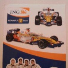 Coleccionismo deportivo: PEGATINAS RENAULT F1 2007. Lote 178903368