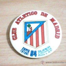 Coleccionismo deportivo: CHAPA SUPER CROMOS ROLLAN DEL AT.MADRID 1984. Lote 26914574
