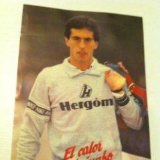 Coleccionismo deportivo: PEGATINA DEL ATLETA CANTABRO JOSE MANUEL ABASCAL MEDALLA DE BRONCE EN LOS ANGELES 84. Lote 27205848