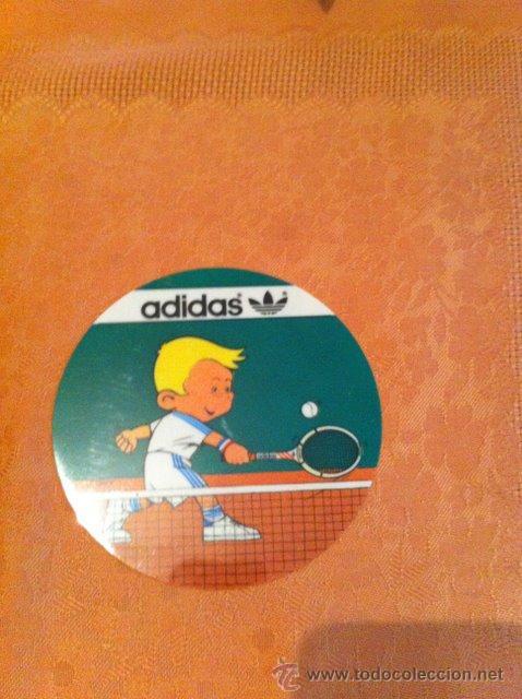PRECIOSA PEGATINA ADIDAS AÑOS 70,80 (Coleccionismo Deportivo - Merchandising y Mascotas - Otros deportes)