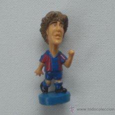 Coleccionismo deportivo: CARICATURA JUGADOR F.C.BARCELONA PUYOL AÑO 2001. Lote 23110330