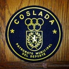 Coleccionismo deportivo: PARCHE DE DEPORTES COSLADA. Lote 24273254