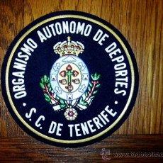 Coleccionismo deportivo: PARCHE DE DEPORTES SC DE TENERIFE CANARIAS. Lote 25673933