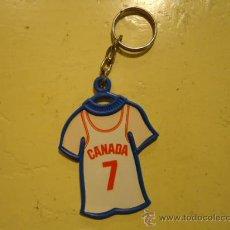 Coleccionismo deportivo: LLAVERO COLA CAO BASKET MUNDOBASKET'86 CANADA BALONCESTO. Lote 26225093