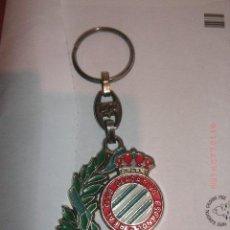 Coleccionismo deportivo: LLAVERO CON AÑOS DEL ESPANYOL PRODUCTO OFICIAL. Lote 25631619