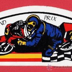 Coleccionismo deportivo: ADHESIVO / PEGATINA - MOTORISMO - MOTO - GRAN PRIX - SIN ESTRENAR - EXTERIOR - AÑOS 80. Lote 26076642