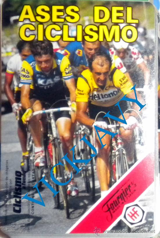 BARAJA FOURNIER AÑO 1988 CICLISMO PERICO DELGADO LEJARRETA LEMOND FIGNON (Coleccionismo Deportivo - Merchandising y Mascotas - Otros deportes)