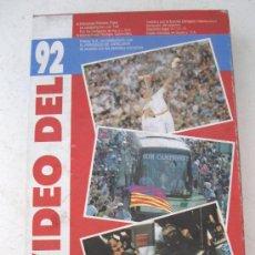 Coleccionismo deportivo: VIDEO VHS - EL VIDEO DEL 92 . Lote 26911287