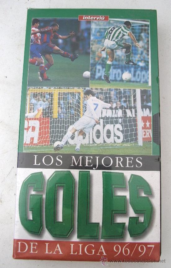 VIDEO VHS - LOS MEJORES GOLES DE LA LIGA 96/97 (SIN USAR, PRECINTADO) (Coleccionismo Deportivo - Merchandising y Mascotas - Otros deportes)