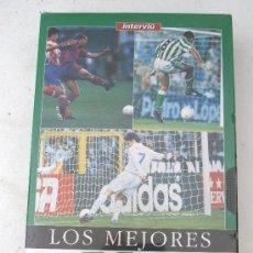 Coleccionismo deportivo: VIDEO VHS - LOS MEJORES GOLES DE LA LIGA 96/97 (SIN USAR, PRECINTADO). Lote 26911321