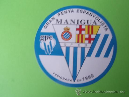 PEGATINA DE LA PEÑA ESPAÑOLISTA MANIGUA (Coleccionismo Deportivo - Merchandising y Mascotas - Otros deportes)