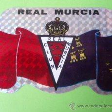 Coleccionismo deportivo: BONITA PEGATINA DEL R.C.D. MURCIA. Lote 27791785