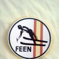 Coleccionismo deportivo: PEGATINA FEEN. Lote 28492865