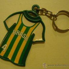 Coleccionismo deportivo: LLAVERO BASKET MUNDOBASKET 86 BRASIL COLA CAO. Lote 29150740