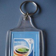 Coleccionismo deportivo: LLAVERO OFICIAL GERMANY 2011 WOMEN'S WORLD CUP. Lote 29055123