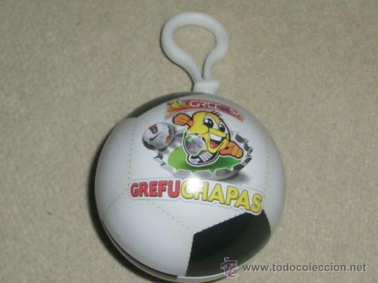GREFUSACHAPAS : GUARDADOR DE CHAPAS OFICIAL - METALICO - (Coleccionismo Deportivo - Merchandising y Mascotas - Otros deportes)