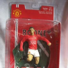 Coleccionismo deportivo: FIGURA ROONEY 10 - MANCHESTER UNITED - OFFICIAL MERCHANDISE - FTCHAMPS. Lote 235590615