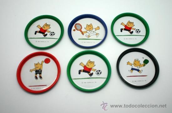 JUEGO DE 6 POSAVASOS JUEGOS OLÍMPICOS BCN 92. (Coleccionismo Deportivo - Merchandising y Mascotas - Otros deportes)