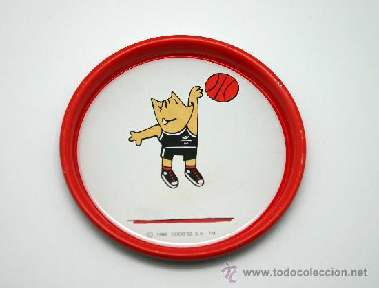 Coleccionismo deportivo: Juego de 6 posavasos Juegos Olímpicos BCN 92. - Foto 2 - 30725228