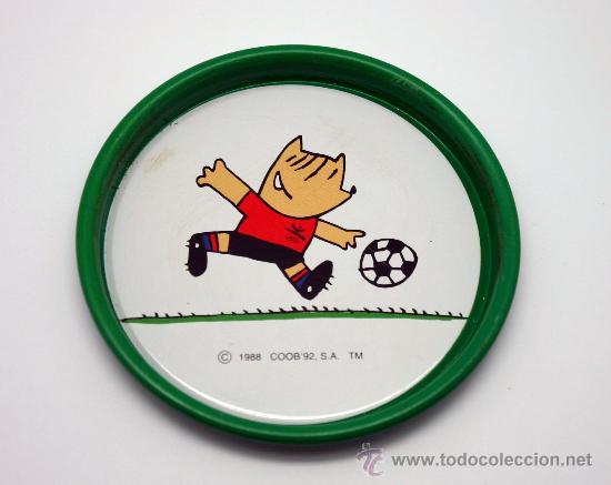 Coleccionismo deportivo: Juego de 6 posavasos Juegos Olímpicos BCN 92. - Foto 3 - 30725228