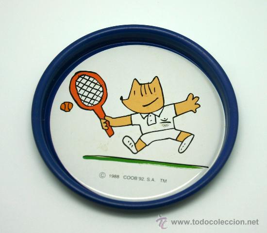 Coleccionismo deportivo: Juego de 6 posavasos Juegos Olímpicos BCN 92. - Foto 4 - 30725228