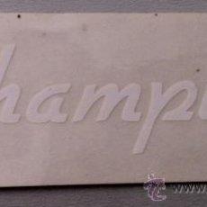 Coleccionismo deportivo - Pegatina adhesivo calca de bicicleta antigua champion ciclismo bici - 32054004