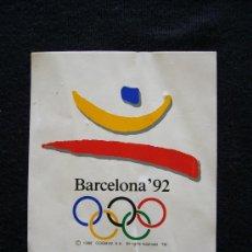 Coleccionismo deportivo: PEGATINA BARCELONA 92. JUEGOS OLÍMPICOS. JAC. AÑO 1988.. Lote 32635886