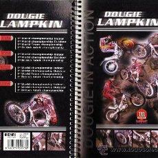 Coleccionismo deportivo: LIBRETA 4º - MOTORISMO / TRIAL - DOUGIE LAMPKIN - ESPIRAL - 80 HOJAS CADRICULA - FAB.ENRI - AÑO 2000. Lote 33230670