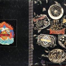 Coleccionismo deportivo: LIBRETA 4º - MOTORISMO - EASYRIDERS - ESPIRAL - 80 HOJAS CADRICULA - TAPA DURA - FAB.UNI - AÑO 1996. Lote 33230672
