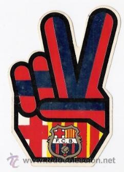 ADHESIVO FUTBOL CLUB BARCELONA (Coleccionismo Deportivo - Merchandising y Mascotas - Otros deportes)
